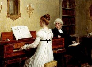 The-piano-lesson for July Blog